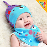 Newborn baby sleep tire hat 3 spring and autumn winter 6 male and female baby 1 year old children's head hat 0-12 months