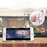 Mobile phone holder lazy mobile phone holder bedside spiral phone clip lazy bracket multifunction