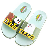 Children's slippers summer parent-child shoes boys and girls indoor bathing non-slip soft bottom big children baby child sandals and slippers