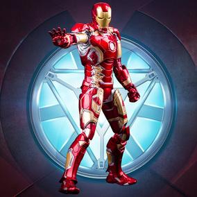 HC钢铁侠Iron Man MARK43复仇者联盟 可动亮灯手办模型摆件礼物