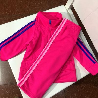 男童女童运动套装小童速干运动外套长裤春秋款特价