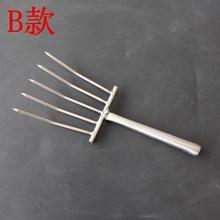 米饭工具5齿饭铲子饭豆芽铲子食堂饭店盛不锈钢叉子大号耙子
