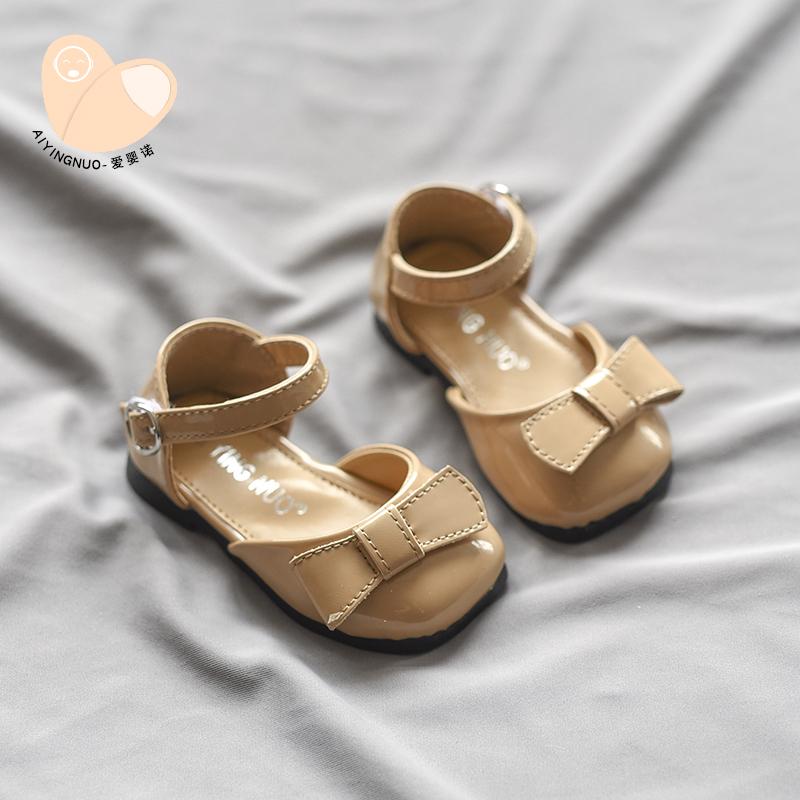 软底学步鞋岁婴幼儿单鞋女小皮鞋新款宝宝