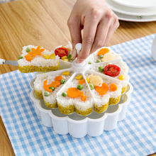 Rice sushi rice that occupy the home opportunely mold children bento creative kitchen baking cake abrasive tools