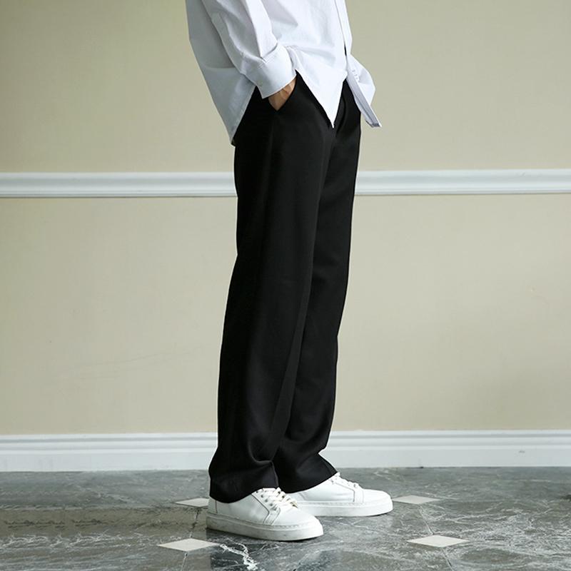 杏色闊腿褲長褲