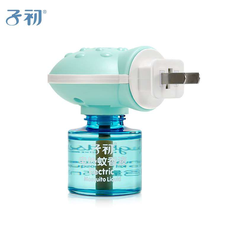 子初电蚊香液无味婴儿驱蚊用品孕妇防蚊电蚊香液6瓶装送加热器2个