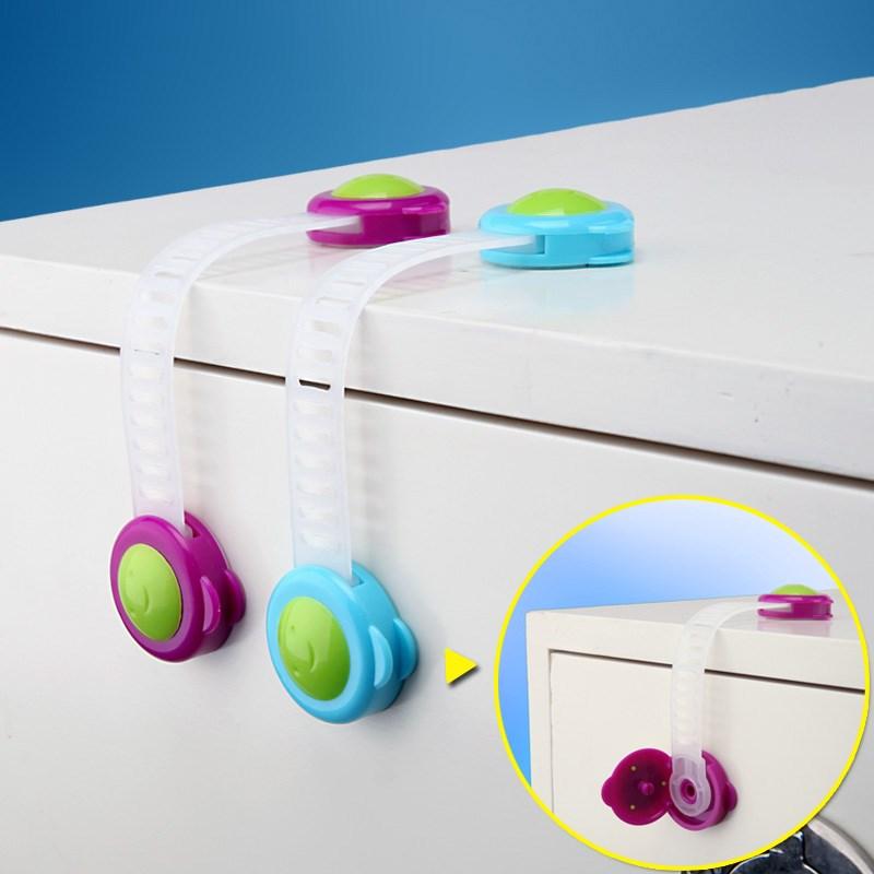 锁抽屉防拉防小孩子开柜儿童锁童锁卡扣橱柜推拉门锁扣抽屉锁
