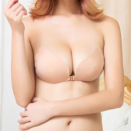 硅胶隐形文胸女婚纱用加厚胸贴新娘聚拢防滑上托小胸薄款大胸乳贴