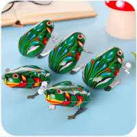 Children's gift nostalgic clockwork frog creative puzzle spread supplies baby students novelty six small toys
