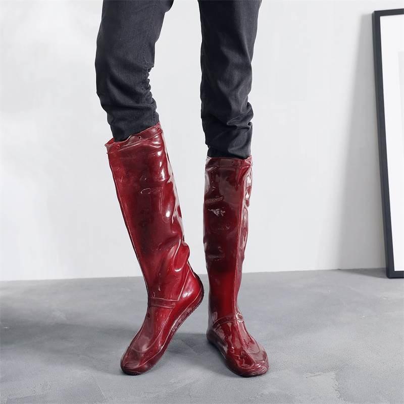 插秧鞋男女中高筒靴水田鞋袜软底系带下水鞋农田靴水鞋工作鞋
