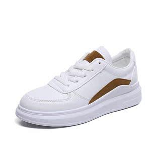 小白鞋女2019春季新款韩版百搭学生跑步运动鞋厚底板鞋平底女鞋夏