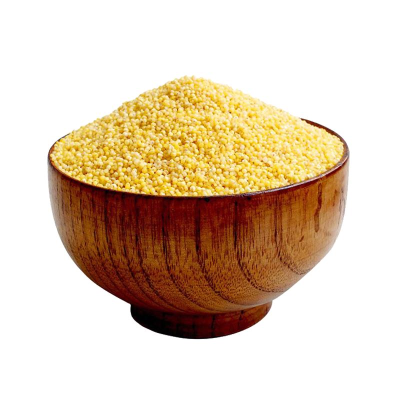山西小米沁州黄小米粥吃的小黄米特产级米糯食用5斤农家新米包邮