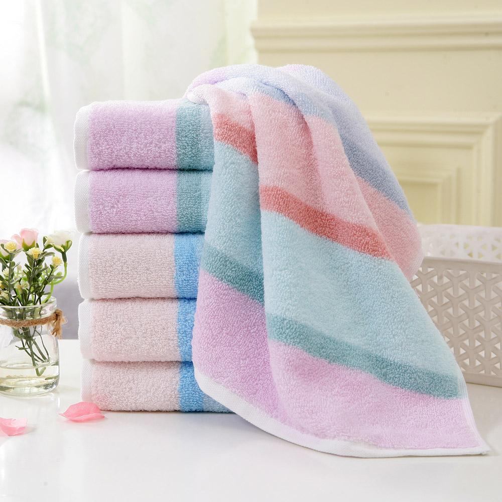 金号纯棉大毛巾 加厚全棉面巾 情侣成人家用洗脸巾 柔软吸水