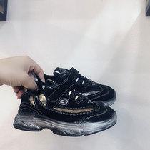 款童鞋夏季一脚蹬儿子鞋网面男童白色鞋透气网鞋2018