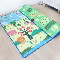 Baby crawling mat thick and tasteless baby children's living room home climbing mat blanket children foam mat folding large