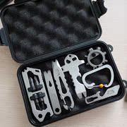 清仓处理EDC多功能组合收纳盒九合一套装多种小工具户外随身装备