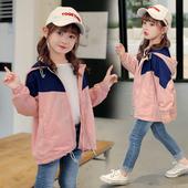 儿童女孩洋气时髦加绒秋冬棒球服童装 女童外套春秋2019年新款 秋装图片