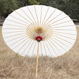 Handmade oil paper umbrella Hanfu high-end cheongsam wedding Chinese style rain-proof