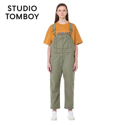 STUDIO TOMBOY设计师品牌 2018秋新款女装背带长裤 9188342172