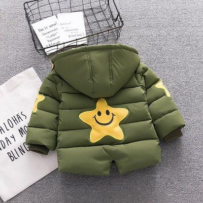 0-1-2-3岁小男孩子加厚羽绒棉衣一两周岁半宝宝冬天保暖棉袄棉服4