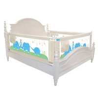 Giovanni vertical lift bed guardrail baby anti-fall children heightening bed bed baby anti-fall bed fence