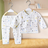 Summer cotton set 0-3-6 months male and female baby clothes baby newborn underwear thin