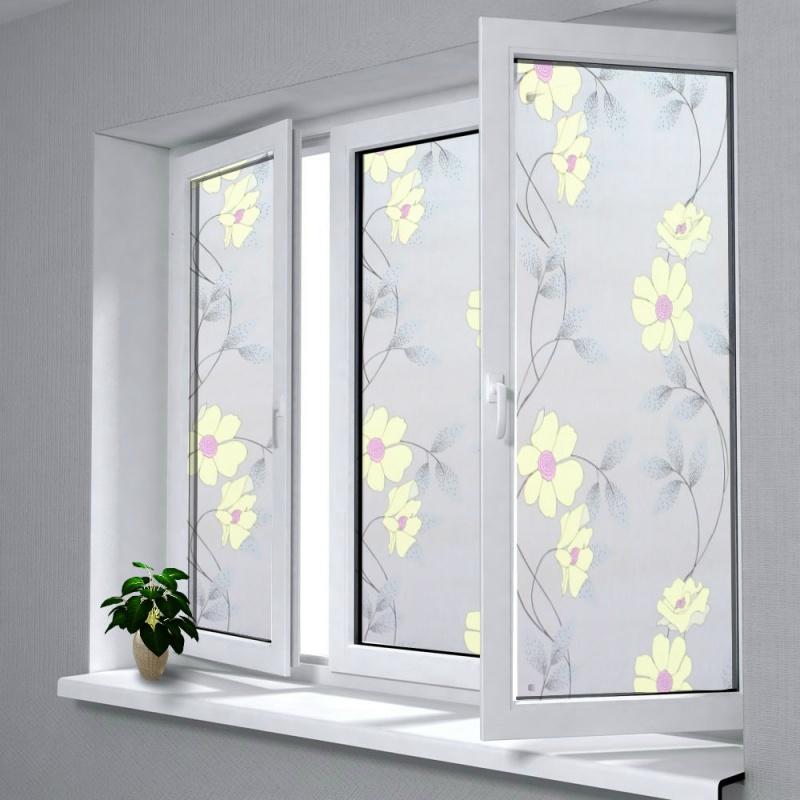 30/60/90cm自粘窗纸防偷窥玻璃贴膜磨砂窗纸透光不透明浴室玻璃纸