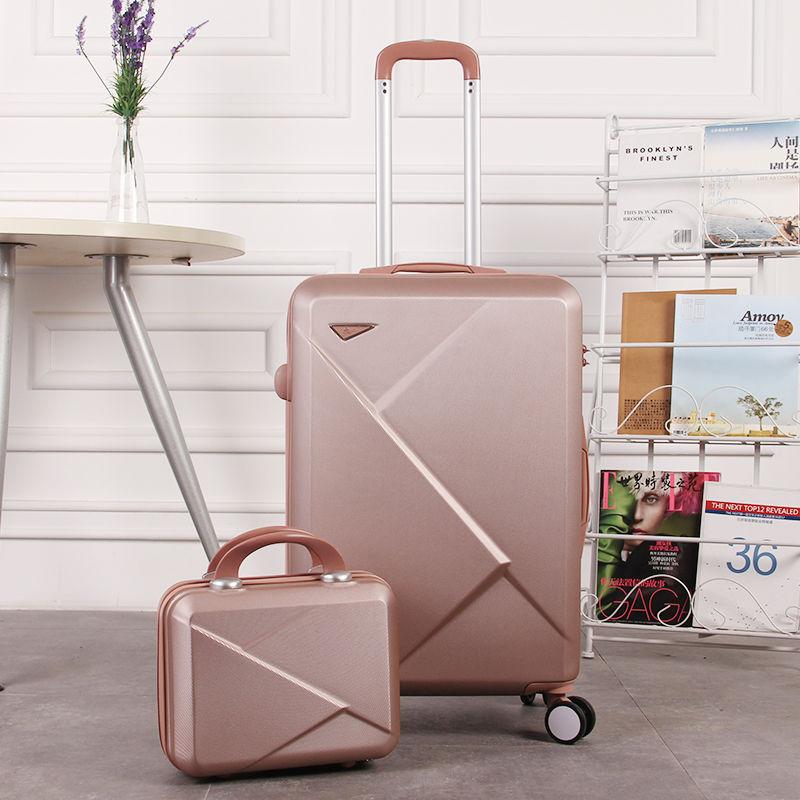 子母套箱学生密码箱20寸行李箱女24寸旅行箱20寸拉杆箱万向轮硬箱