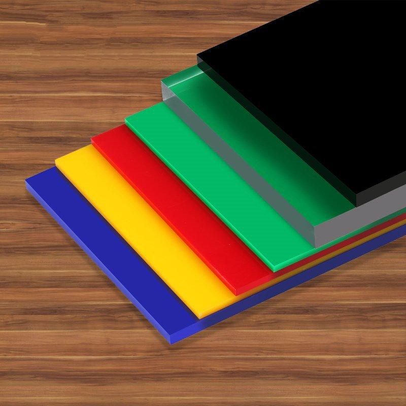 diy6.5mm硬塑料定做有机玻璃镜面板整张塑料pc软镜子亚克力塑料板