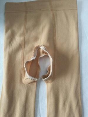 春秋季开裆裤女成人外穿加厚免脱开档 丝袜内加绒性感裤打底裤