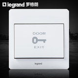 Logue lang TCL Ming door guard door guard button door key hotel ding dong doorbell switch reset 86 panels