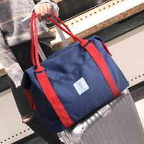 真皮手提旅行包男大容量出差手拎行李包商务休闲公文包男士包包