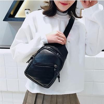 亏本热卖韩版新款男女包胸包男款通用复古青年斜跨手机男生女士双