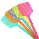 15 fly swatter new plastic manual large summer mosquito killing durable long handle fly swatter wholesale