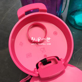 Sloppy I - Tupperware counters authentic sealed leak-proof tea cup tea compartment light tea rhyme heart cup 380ML