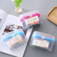 High-grade sewing box set household portable hand sewing clothes small sewing kit line storage box finishing box