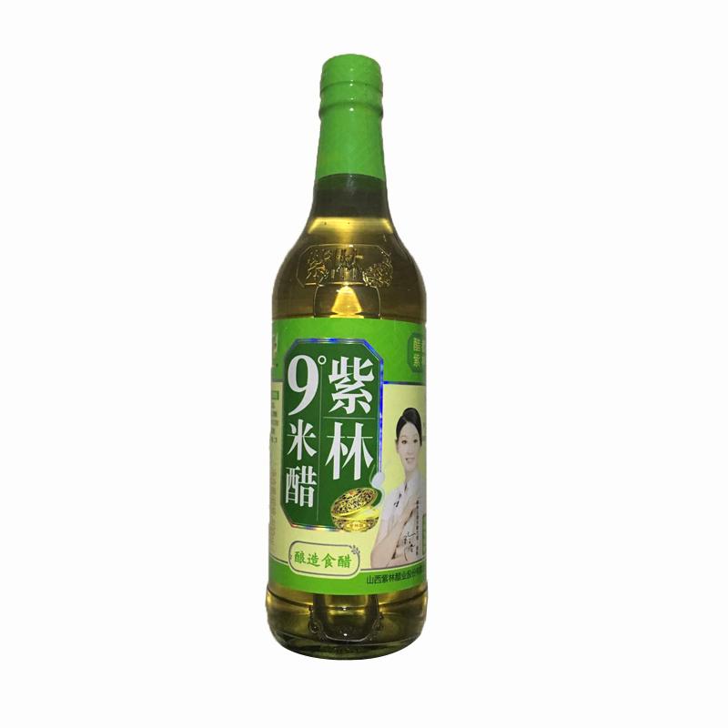 4瓶包邮[富华优选]山西老陈醋浸蛋醋泡蛋醋蛋液紫林9度米醋原浆醋