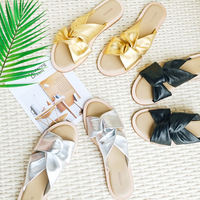[Wang Xiaodu] summer portrait does not hit the three-dimensional foot stepped high quality cross flat sandals and slippers 5.14