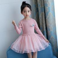 4岁女童毛衣裙
