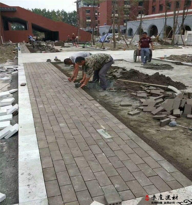 烧结砖 劈开地砖 广场砖 砖   地面砖  陶土砖 别墅庭院园林