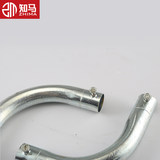 KBG/JDG galvanized pipe monthly bend 90 degree corner crescent monthly bend 16 wire fittings