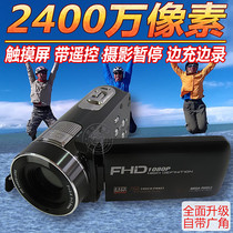 高清迷你摩托车行车记录仪头盔骑行4k防水运动摄像机潜水下照相机