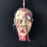 House horror props room escape head hanging halloween show decoration ghost simulation head neat scary ghost head