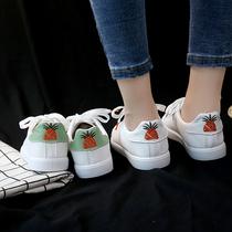 断码清仓小白鞋女百搭帆布鞋秋季板鞋内增高女鞋加绒冬季鞋子棉鞋