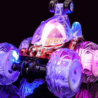 超大翻斗特技车 充电翻滚遥控车越野遥控汽车 男孩儿童摇控玩具车