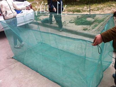 10目网箱渔网网片龙虾网箱泥鳅养殖网黄鳝养鱼螃蟹青蛙育苗孵化网