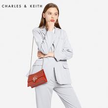 20150781金属圆环璐彩女士链条包 CHARLES&KEITH单肩包CK2