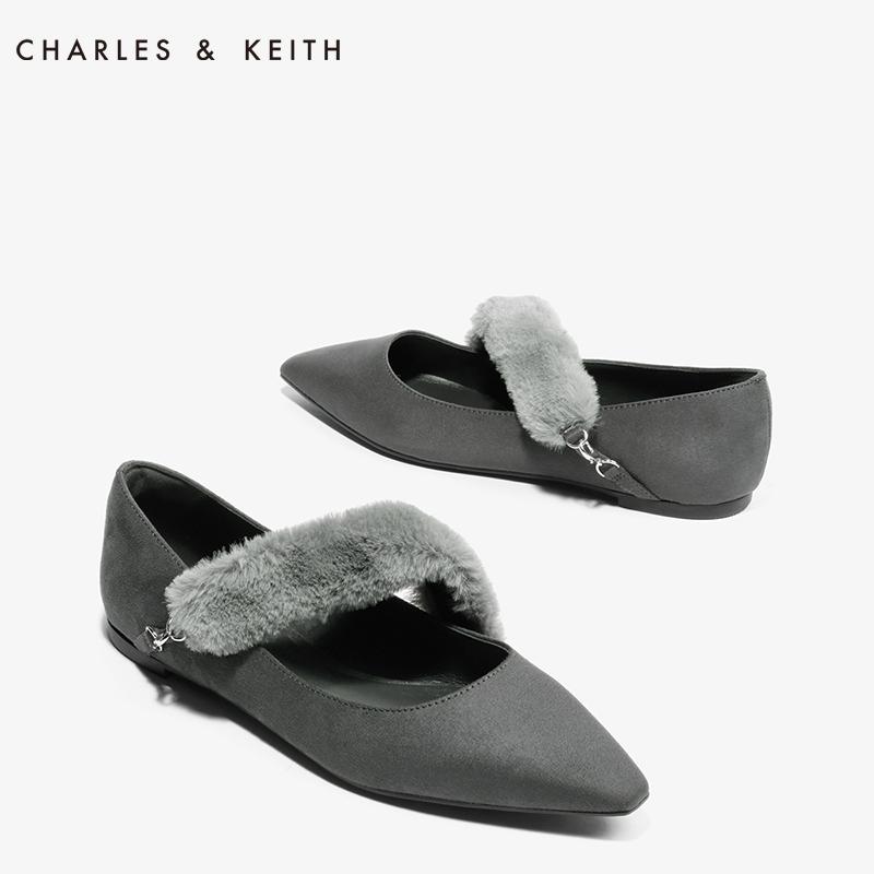毛绒鞋毛毛鞋单鞋