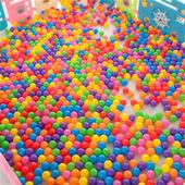 海洋球池家用婴儿童宝宝室内玩具游乐园家庭大彩色彩球小球球玩图片
