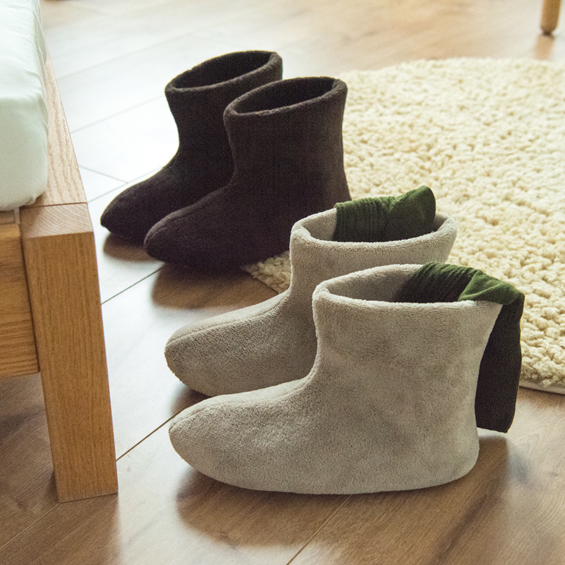 包跟棉靴子